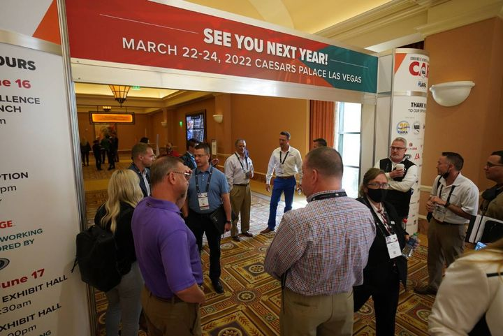 More than 350 attendees gathered for the 2021 Conference of Automotive Remarketing June 15-17 at Caesars Palace, Las Vegas. Next year's event will be in the same venue on March 22-24. - Photo: bobit