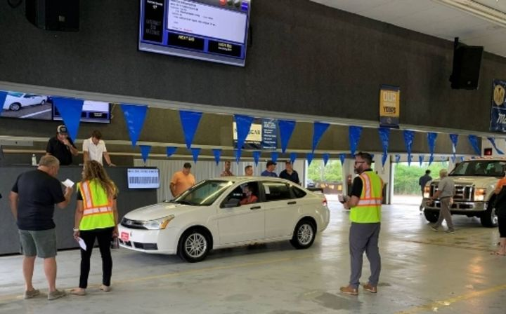 The new site represents the first-ever physical presence for Manheim and clients in the region. With four auction lanes, sales will take place bi-weekly on Tuesdays at 10 a.m. and feature multiple sellers. - Photo: Manheim