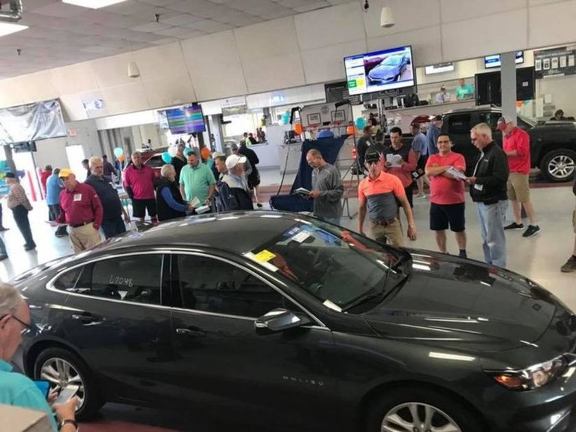 Columbus Fair Auto Auctionstands atop 154 acres and operates an 11-lane arena, reconditioning...