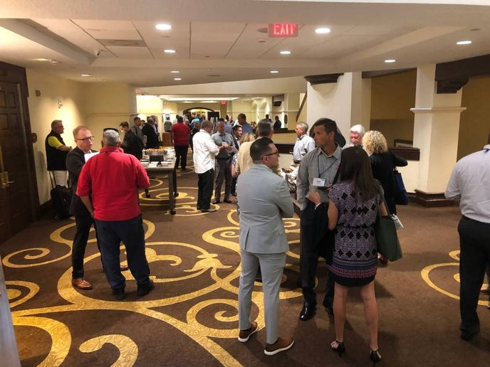 The first IARA Summer Roundtable in two years marked its 20th anniversary, with attendees eager to reconnect in the aisles and corridors of the San Antonio Marriott Riverwalk, Aug. 25-26, 2021. - Photo: Martin Romjue / Bobit