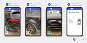 Smartphone With AI Tool Can Quickly Assess Vehicle Conditions