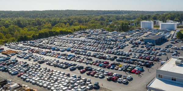 The lot at Richmond Auto Auction's 29thanniversary sale, held on Sept.20,had more than 900...
