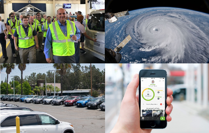 The top news of 2018 included coverage on the hurricane's impact on the remarketing industry, the effects of the off-lease tidal wave, mobile technology and Manheim. 
