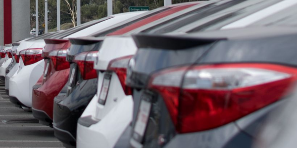 Through the first six months of 2019, auto sales are down 2.2% — 200,000 units — year-over-year.