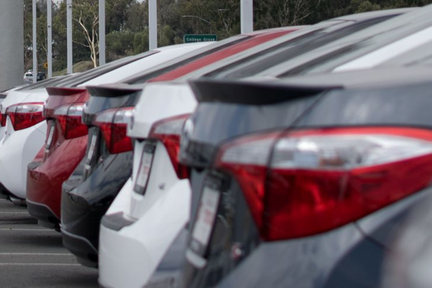 New vehicle saleswere down 1.8% year-over-year in October and were down 1.6% through September.
