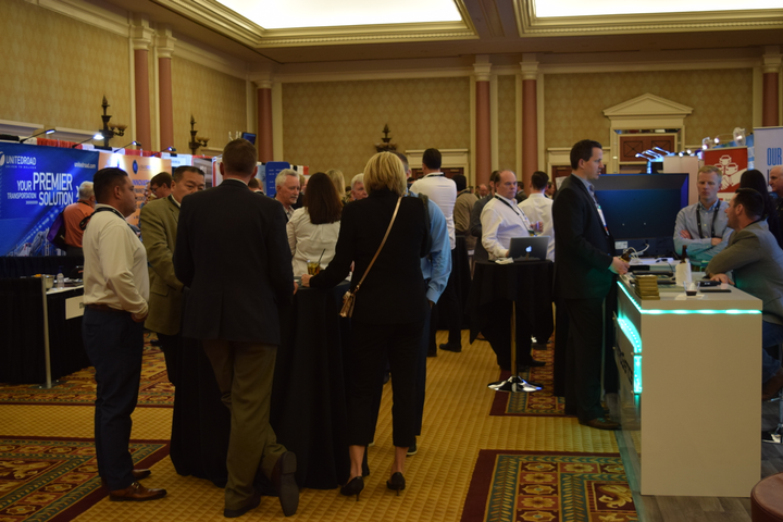 Remarketing professionals had plenty of opportunities to network at the 2018 Conference of Automotive Remarketing.  - Photo by Andy Lundin.