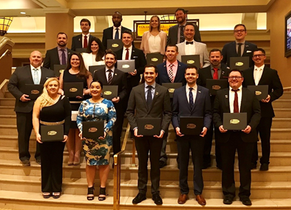 Registration for the sixth class comes off the heel of the fifth glass group's recent graduation at the 2019 Conference of Automotive Remarketing.  - Photo courtesy of Auction Academy.