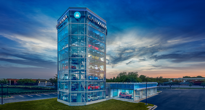 Carvana has opened up its 10th vending machine in Washington, D.C. 