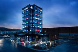 Carvana Opens Newest Vending Machine in Kansas City