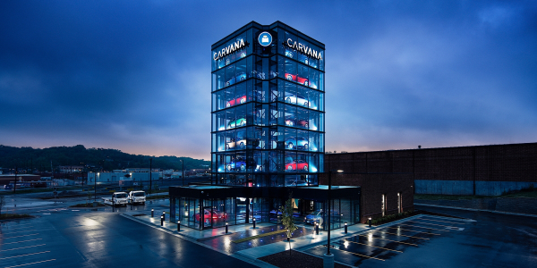 Car buyers who are interested in purchasing a used vehicle from any of Carvana's vending...