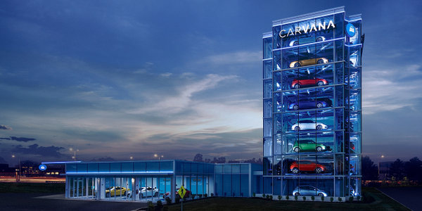 Including this machine, Carvana now operates 20 car vending machines throughout the U.S.