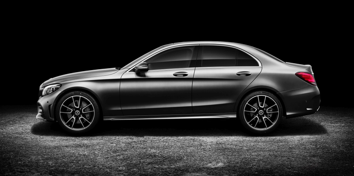 The Mercedes-Benz C Class saw the highest rate of entering the used market one year after purchase as a new vehicle.  - Photo courtesy of Mercedes-Benz.