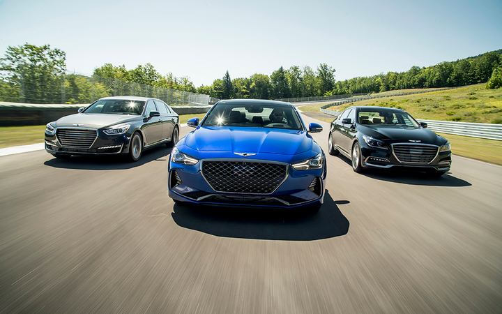 Sales of the Genesis brand improved by an industry-best 56% in April, helping to offset a weak month and start to 2019 for the U.S. auto retail industry.
