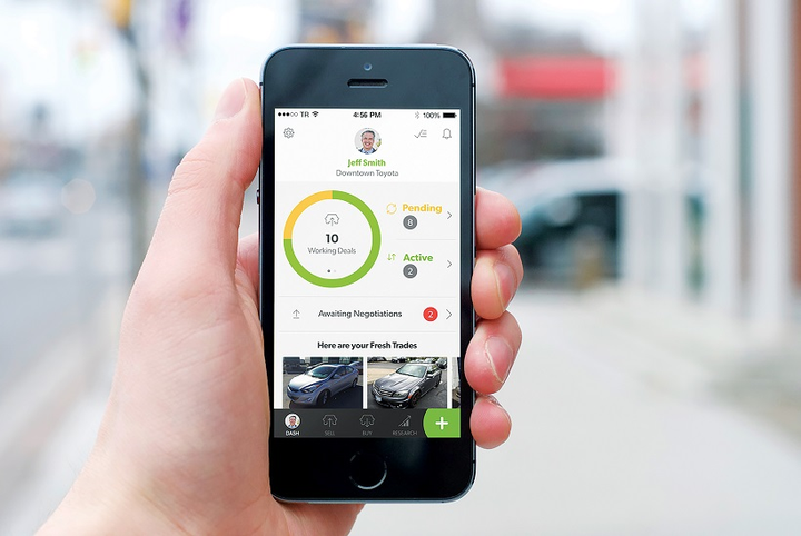 TradeRev also enhanced its customer filters and notifications that allow users to pinpoint their target vehicles more efficiently and also have access to more notification options.  - Photo courtesy of TradeRev.