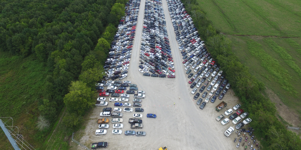 Insurance Auto Auction's new location will sit atop of 35 acres of land.
