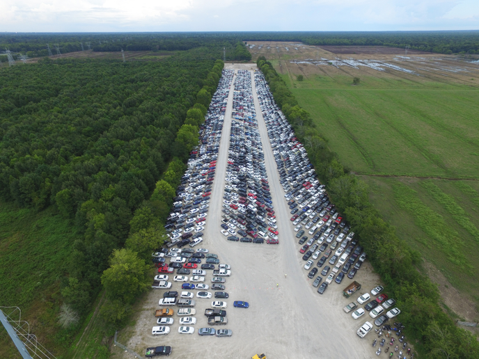 Insurance Auto Auction's new location will sit atop of 35 acres of land. - Photo courtesy of IAA.
