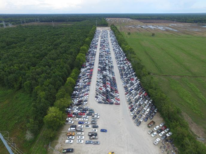 Expanded auction facilities are based in Huntsville, Alabama; Little Rock, Arkansas; Minneapolis/St. Paul; Long Island, New York City; and Houston. - Photo courtesy of IAA.