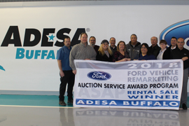 ADESA Buffalo Earns Ford Auction Service Award Program Awards