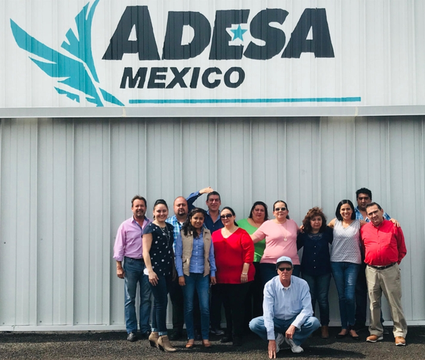 ADESA Mexico CIty's new location boasts several enhancements such as onsite security and reconditioning resources.