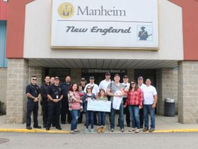 Manheim New England Hosts Third Annual Touch-a-Truck Event