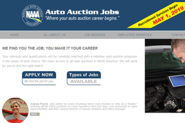 NAAA Launches Auction Job Website