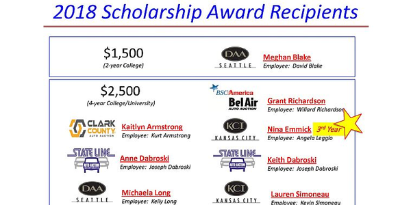 ServNet has awarded $19,000 in scholarships to eight students this year.