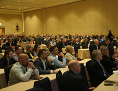 The keynote presentations at the 2019 Conference of Automotive Remarketing saw full rooms.