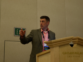 Joe Miller was one of the presenters on a session that discussed the development of a...