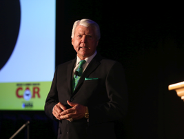 The NAAA opening keynote address was presented by Jimmy Johnson, the former coach of the Dallas...