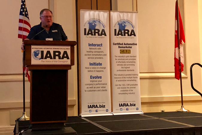 Tony Long, the executive director of the IARA, provided one half of the first day's welcoming...