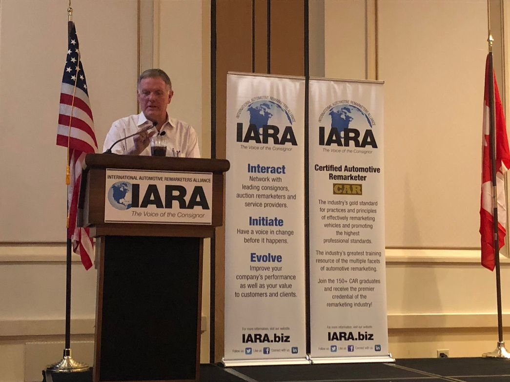 Bob Griese, a former NFL quarterback, provided the opening keynote presentation on the first day...