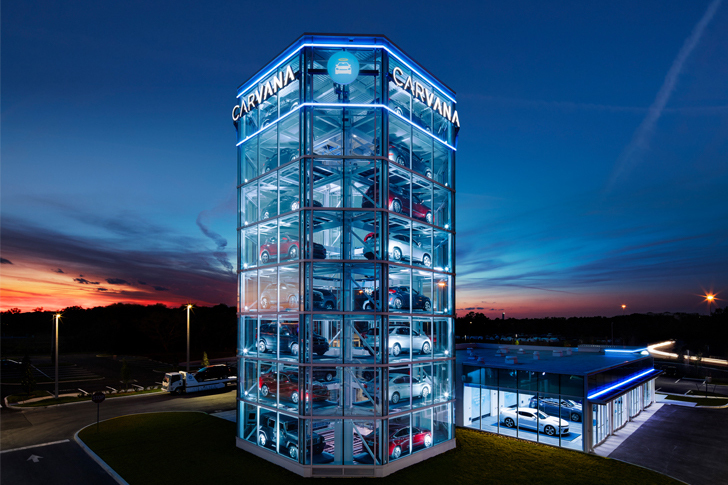Carvana Opens New Vending Machine in Florida - Technology ...