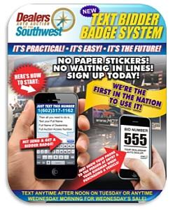DAASW.com Announces Sale Day Mobile Bidder Badge System