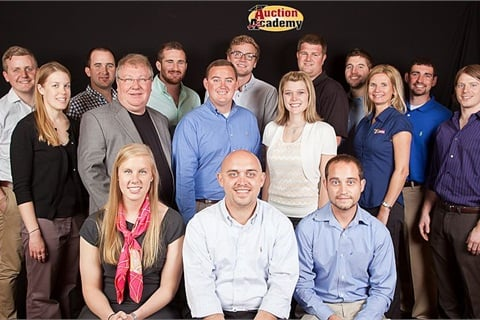 Auction Academy's Inaugural Class met in Nashville, Tennessee the first weekend in May. They are participating in a two-year MBA-type training and development program for the sons and daughters of independent auction owners.