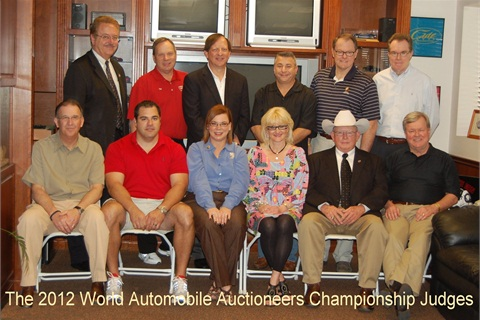 "Top auto auctioneers and ring people from the United States, Canada and the United Kingdom came together in Sanford, Florida on Friday, March 30th to vie for the coveted title of ""World Champion"" in Twenty-fourth Annual World Automobile Auctioneers Championship. Competition was fierce and the chants were spirited as 78 contestants competed for three world championships."