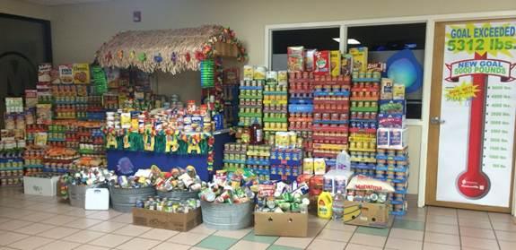 Manheim Donates 27,000 Pounds of Food