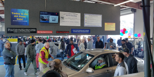 Hundreds of dealers participated in a Southeastern Auto Auction's charity event. Photo courtesy...
