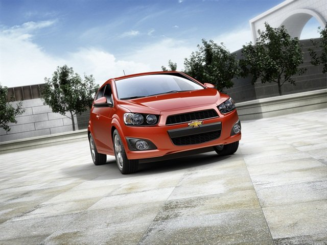 The 2013 Chevrolet Sonic, photo courtesy of the automaker.