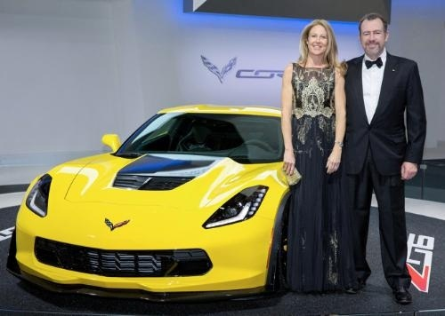 GM President Dan Ammann (R) and his wife, Pernilla, chief operating officer of Mother New York, are the chairs of the dinner, the fourth consecutive year that a GM senior leader has chaired the event. (PRNewsFoto/General Motors)