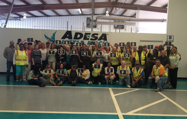 ADESA Little Rock raised nearly $60,000 with a charity fundraiser auction to benefit area tornado relief efforts.