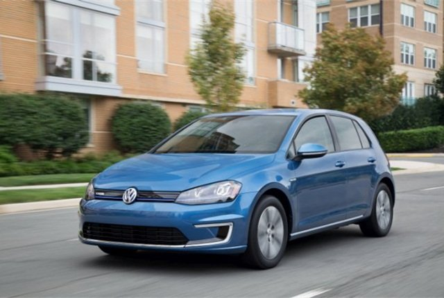 2015 Volkswagen eGolf (PHOTO: Volkswagen of America)