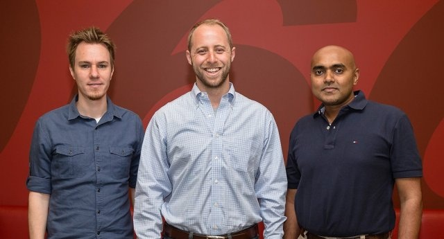 CarCodeSMS co-founders in order: Steve Schwartz, Nick Gorton and Prabode Weebadde (PHOTO: Scott Jacobs for Edmunds)