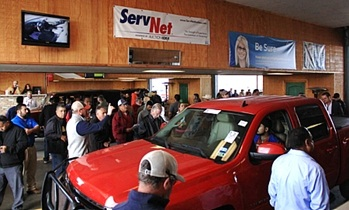 The Corpus Christ Auto Auction has been operating under the Walker family banner since 2000. (PHOTO: SERVNET)