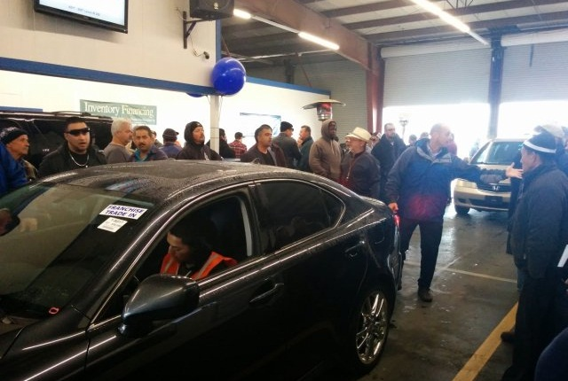 The Fresno facility was recently purchased by the Brasher family, and held its first sale under the Brasher banner on Friday, January 16. The Fresno facility is the 8th auction operated by the Brasher family in the West. (PHOTO: ServNet)