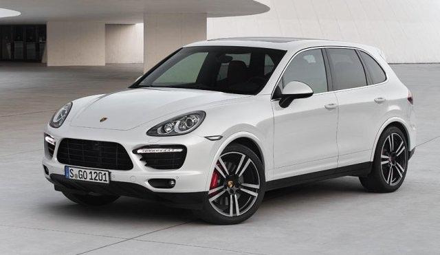 2013 Porsche Cayenne Turbo (not the actual vehicle auctioned). PHOTO: Porsche