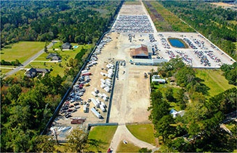 Photo of the Greenwell Springs location courtesy of Copart.