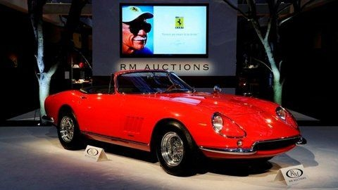 The 275 GTB/4*S N.A.R.T Spider is one of the world's rarest cars, with only 10 cars having been built in the 1960s, commissioned by Ferrari's American importer, Luigi Chinetti.