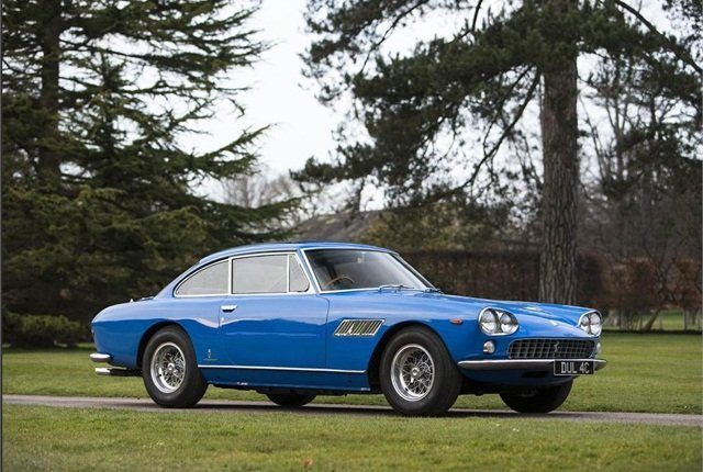 The first car of John Lennon of Beatles fame was a 1965 Ferrari 330 GT 2+2 Coupe.