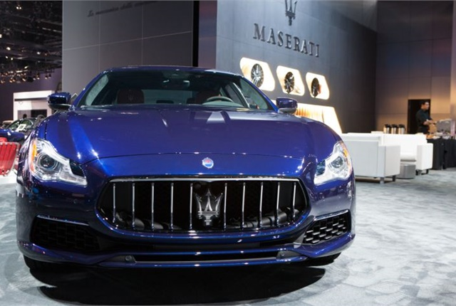 Photo courtesy of Maserati.