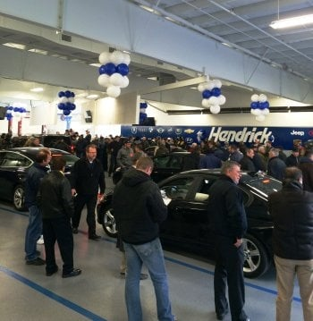 Manheim Charlotte's first sale was held on January 7. (PHOTO: MANHEIM)